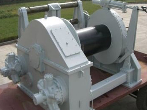 Hydraulic tugger winch with high quality