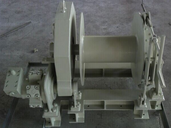 Single drum hydraulic anchor winch for sale
