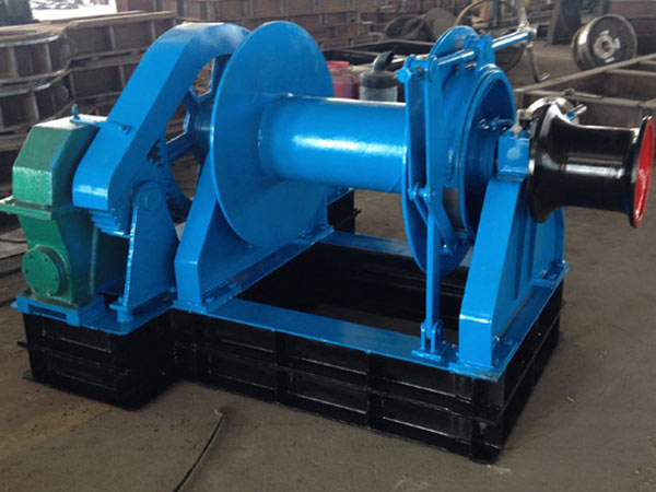 Single drum vessel winch for sale