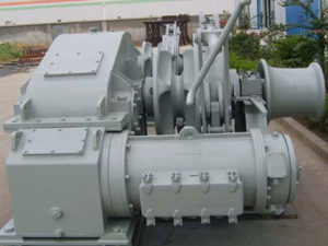 Single gypsy electric winch for sale