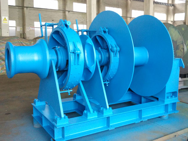 Hydraulic boat anchor winch for sale
