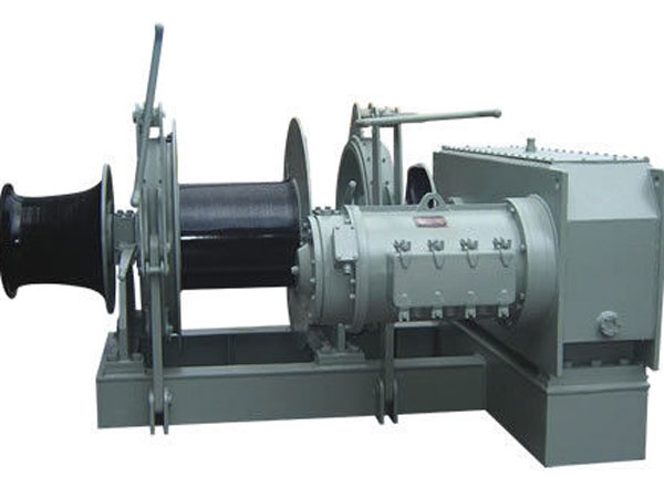 electric deck winch with high quality