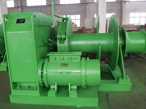 electric vessel winch