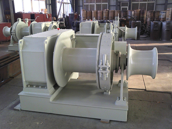 Vessel Windlass Supplied by Aimix