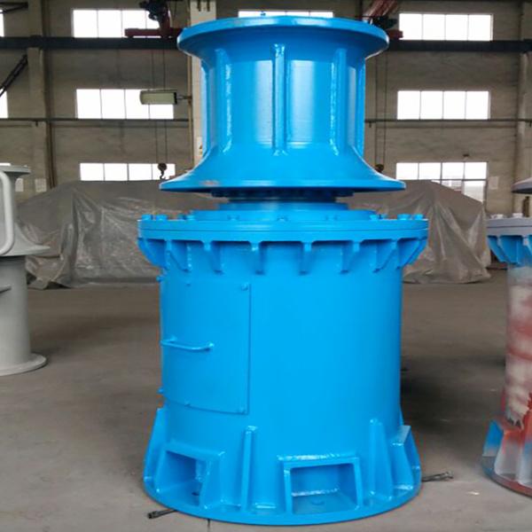 6 ton electric vertical capstan