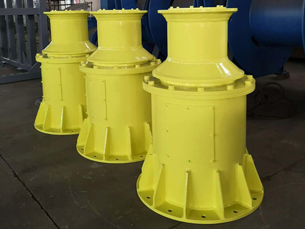 High quality mooring capstans