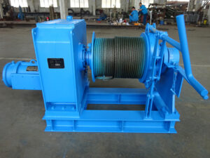 Electric offshore winch for sale