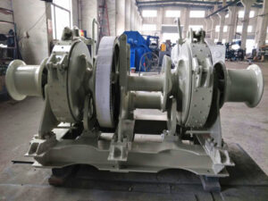 Hydraulic anchor winch for sale