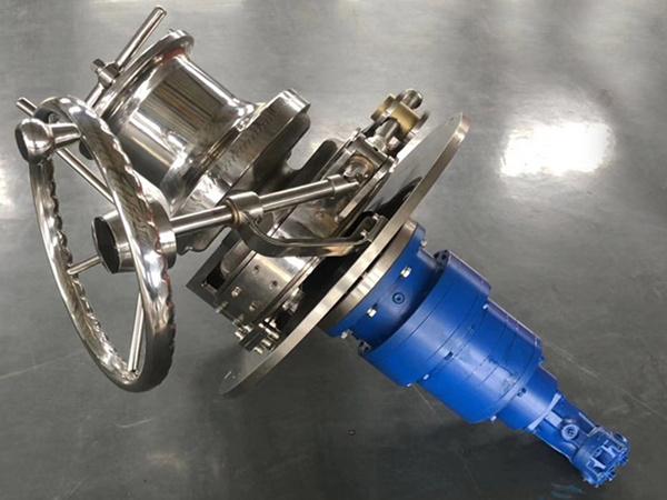 hydraulic capstan marine