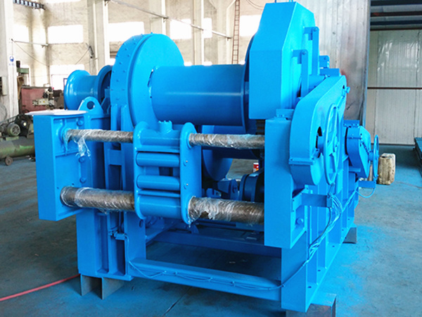 Hydraulic marine towing winch for sale