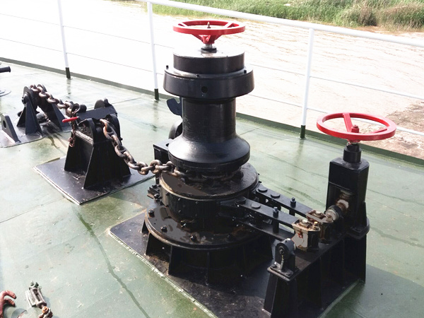 capstan anchor winch with high quality