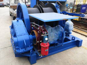 AQ-JM10T double drum winch