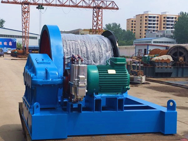 20 ton winch to Pakistan