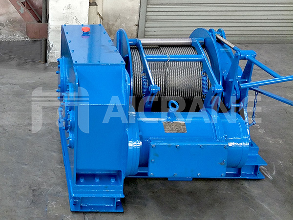 5ton electric winch to UAE