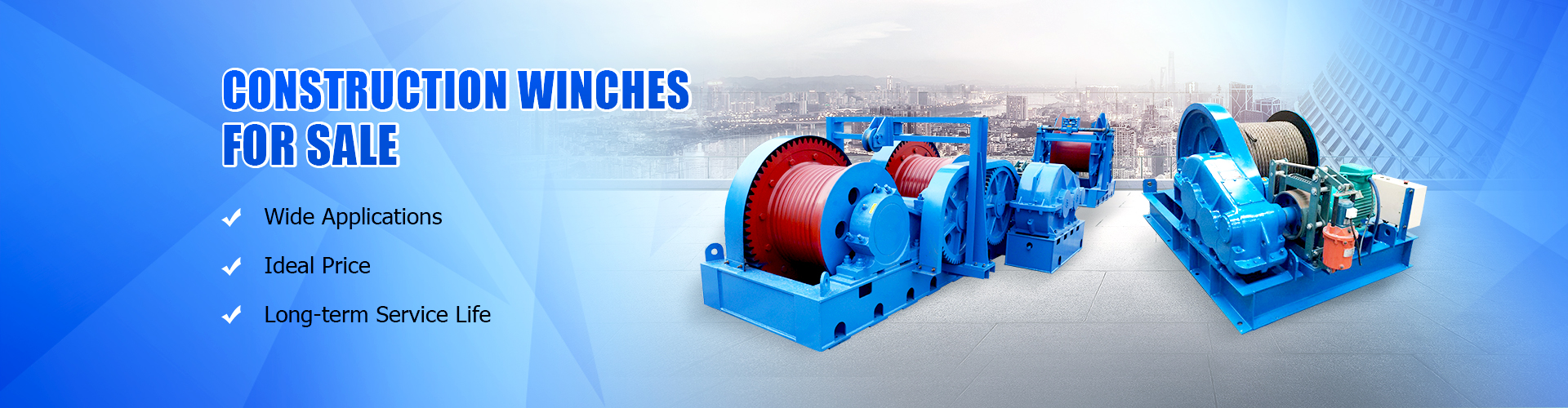 AICRANE construction winch