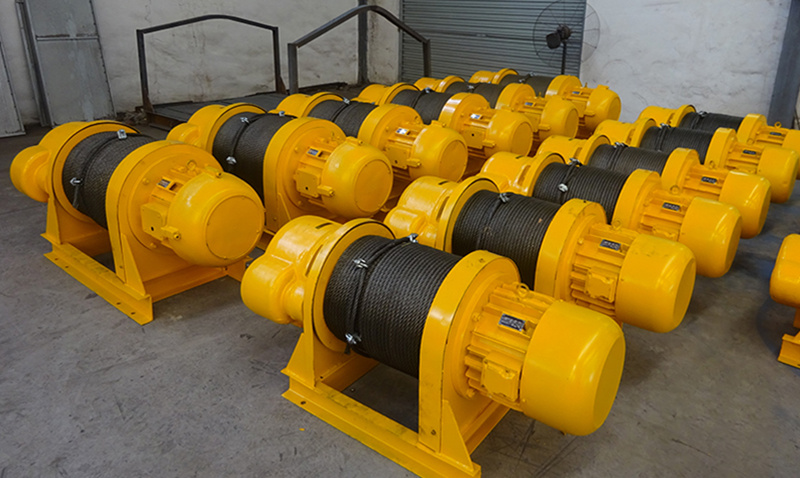 JKD series planetary winch