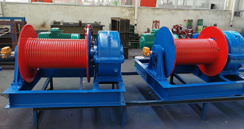 electric construction winches with good quality