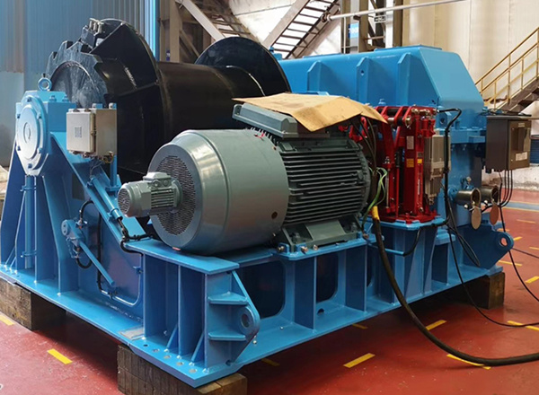 Aicrane electric mooring winch for sale