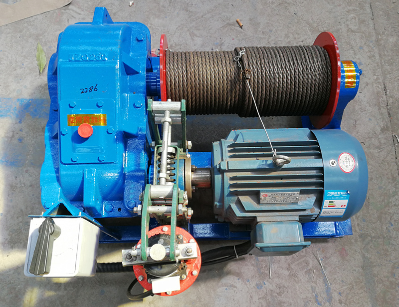 high speed winch with good quality