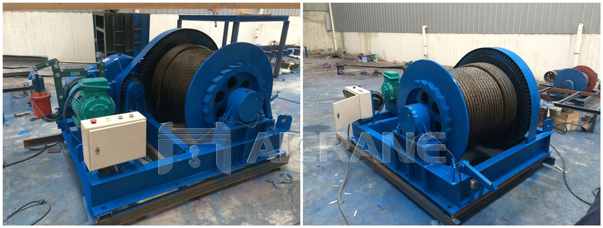 12ton electric winch for sale