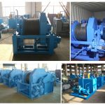 15ton Hydraulic Winches Delivered to Vietnam