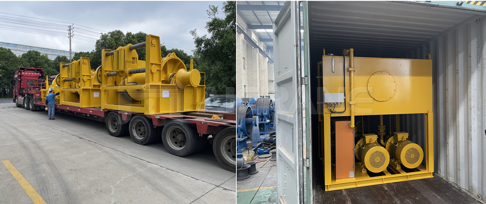 mooring winch delivery