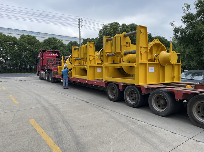 winch delivery