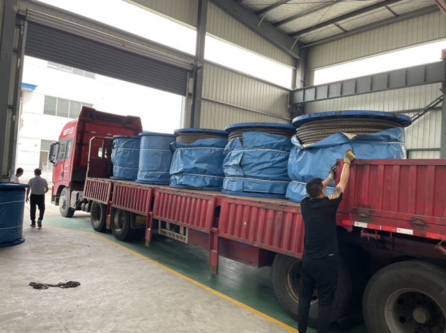 wire rope delivery
